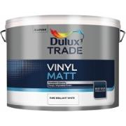 DULUX WHITE VINYL MATT TRADE 5L