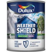 DULUX RE PB WHITE QD EXT.SATIN 750ML