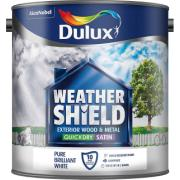 DULUX RE PB WHITE QD EXT.SATIN 2.5Ltr