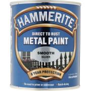 HAMMERITE SMOOTH SILVER 750ML