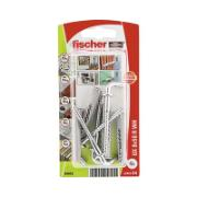 FISCHER PLUG WITH STRAIGHT HOOK 8X50 WHK