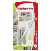 FISCHER UNIVERSAL PLUG UX 8 X 50 R RH WITH RIM AND ROUND HOOK