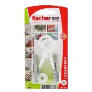FISCHER UNIVERSAL NYLON PLUG (DIA)8MM (L)50MM, PACK OF 2