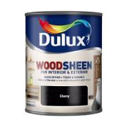 DULUX EBONY AQUA WOOD.250ML