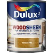 DULUX ANTIQUE PINE AQUA WOOD.750ML