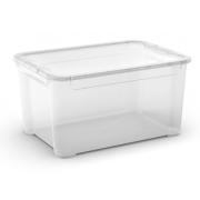 KIS TBOX L TRANSPARENT 47L