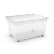 KIS R BOX OVERSIZE BODY 140L TRANSPARENT