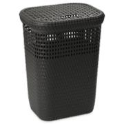 DEA LAUNDRY BASKET 60 LTR DARK BROWN