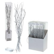 WILLOW BRANCHES 40CM SILV.12LD
