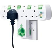 MATESTAR 4WAY ROTO PLUG ADAPTR
