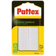 PATTEX DOUBLESIDED STIRIGMATA 24 PCS (25MM x 12MM)