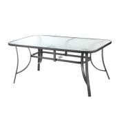 BUTTERFLY TABLE 180X90EK. ΓΚΡΙΖΟ
