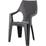 KETER DANTE HIGH CHAIR ANTHRACITE