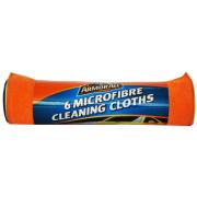 ARMOR ALL 6 MICROFIBER CLEANING CLOTHS
