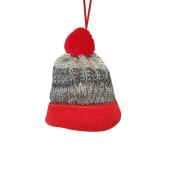 XMAS HANG HAT RED 9CM