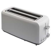 MORPHY RICHARDS 4 SLICE WHITE TOASTER