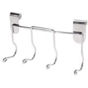 BBQ TOOL HOLDER W. 4 HOOKS