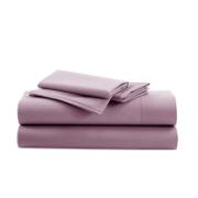 IONION BEDSHEET FITTED COTTON 160X200X28CM LILA