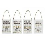 FUNNY QUOTE HANGING SIGNS SET2