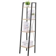 MAROCO BOOKCASE BLACK 34X32