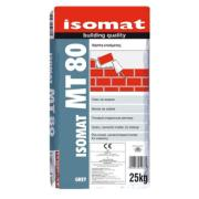 ISOMAT MT-80 CEMENT BASED MORTAR FOR MASONRY GREY 25KG