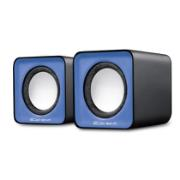 ELEMENT SPEAKER USB 2X2 5WATTS BLUE