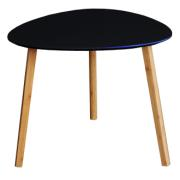 TRIANGLE TABLE BLACK 40X40X40CM