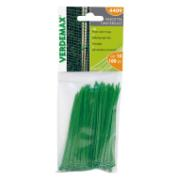VERDEMAX CABLE TIES 10CM 100PCS GREEN