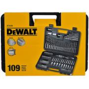DEWALT SET DRILLBIT+SCREWDRIV 109