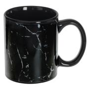 SG SECRET DE GOURMET MUG M GEOM MARBLE 35CL BLACK
