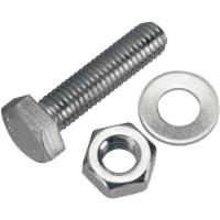 FER 5PCS HEX BOLD & NUT M6x40