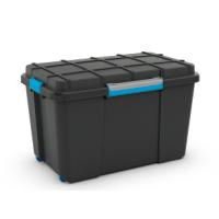 SCUBA BOX XL 106L BLCK/BLUE CL