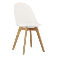 JINA PP CHAIR WHITE WITH CUSHION