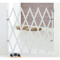 EXTENDABLE WOODEN STAIR GATE WHITE COLOR