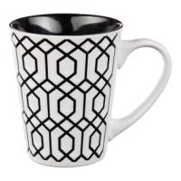 MUG GEOMETRIC B&W 30CL