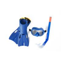 BESTWAY DIVING SET WITH FINS AGE 3+ SIZE: 24-27
