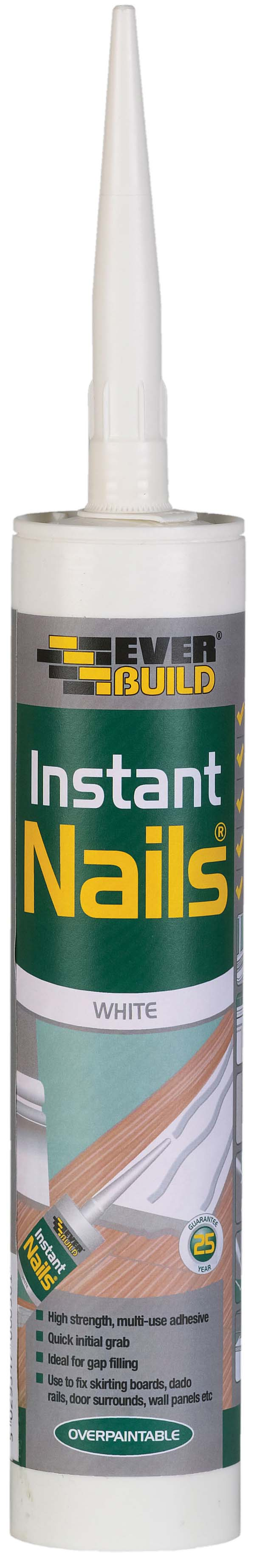 EVER BUILD INSTANT NAILS ADHESIVE 310ML