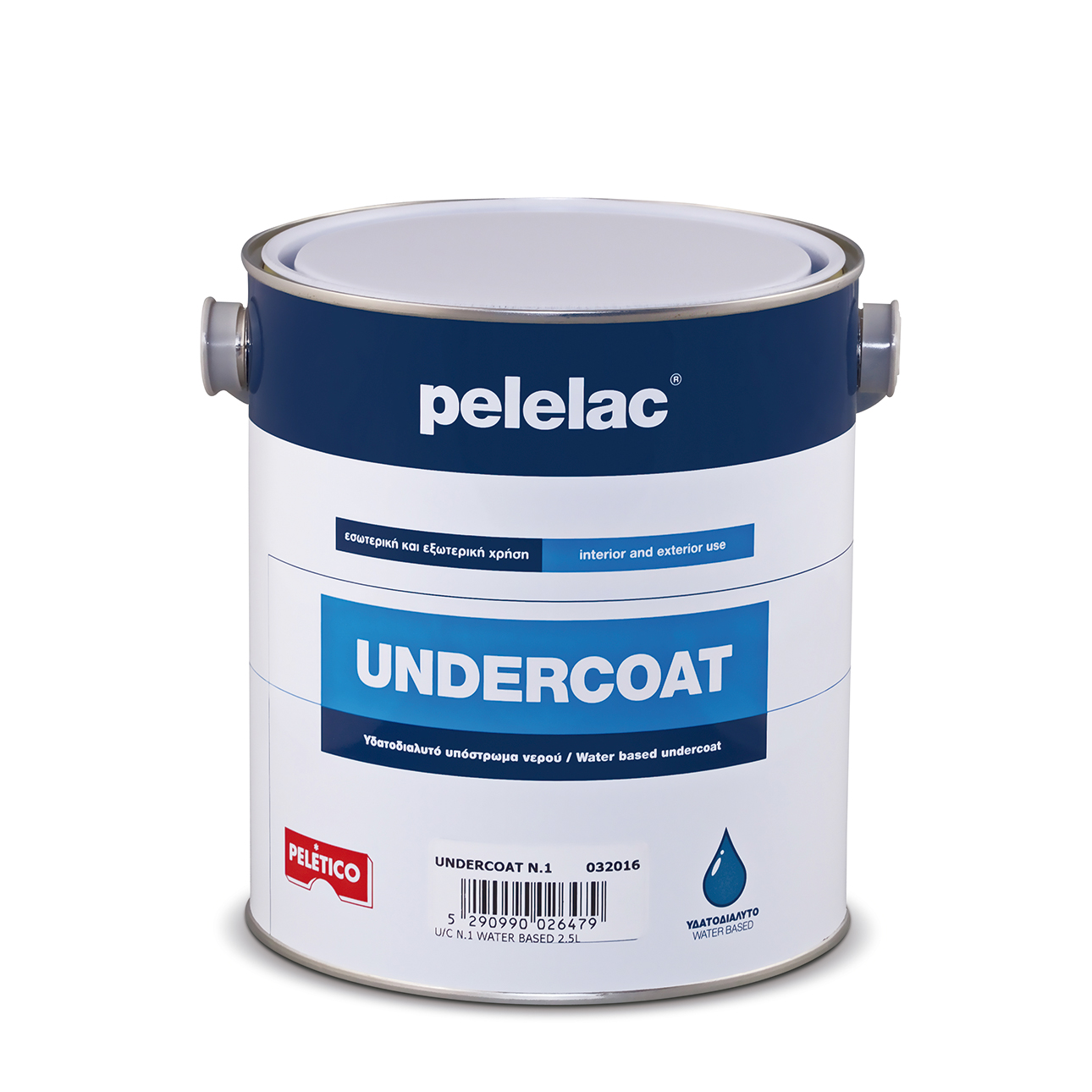 PELELAC UNDERCOAT N.2 WATER BASED 5L