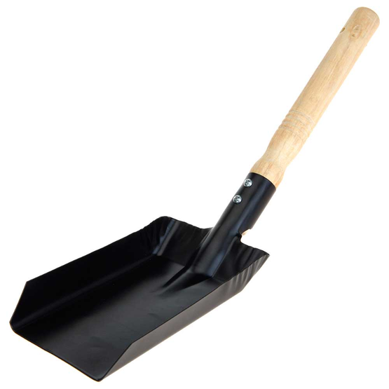 BBQ SHOVEL FOR BBQ CAL CLR BLK
