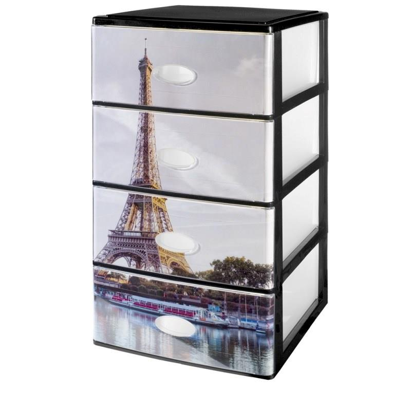 4 DRAWERS PARIS 38X37X63CM