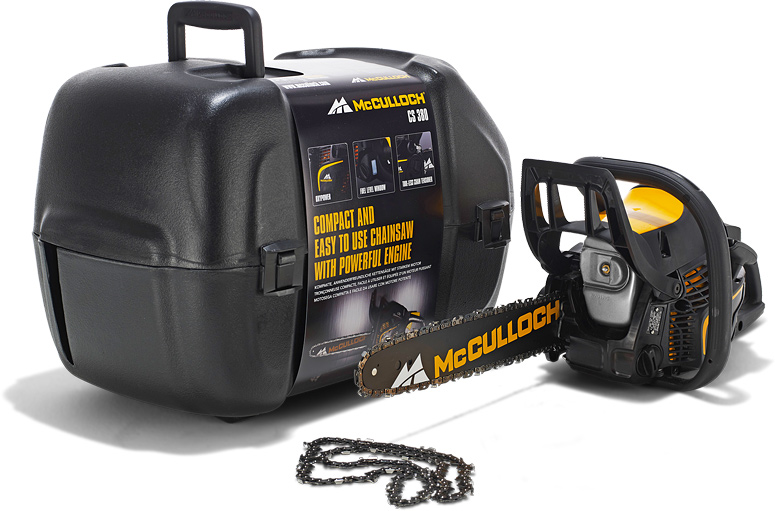 MCCULLOCH CHAINSAW 16'' 38.2CC&BAG