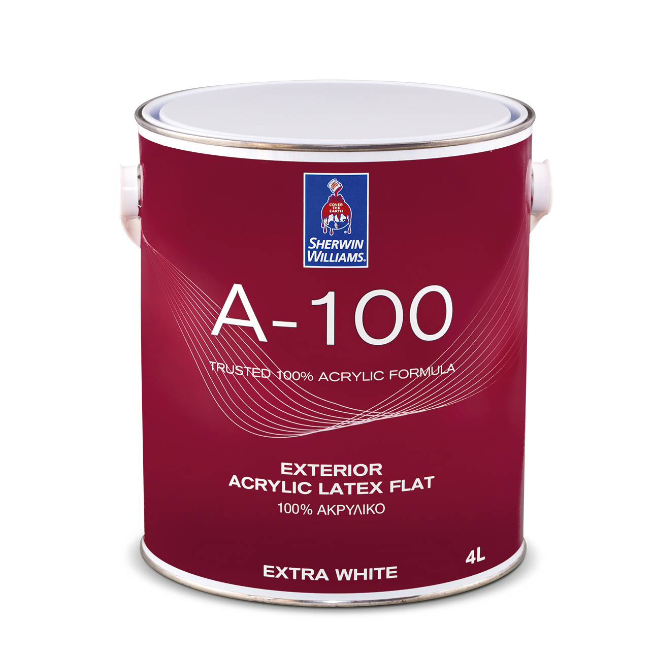 SHERWIN-WILLIAMS® A-100® SUPERWHITE 4L