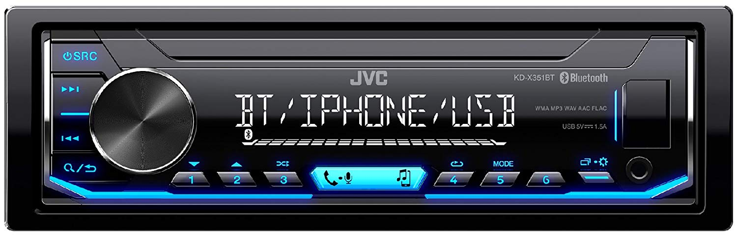 JVC CAR RADIO/USB/BLUETOOTH