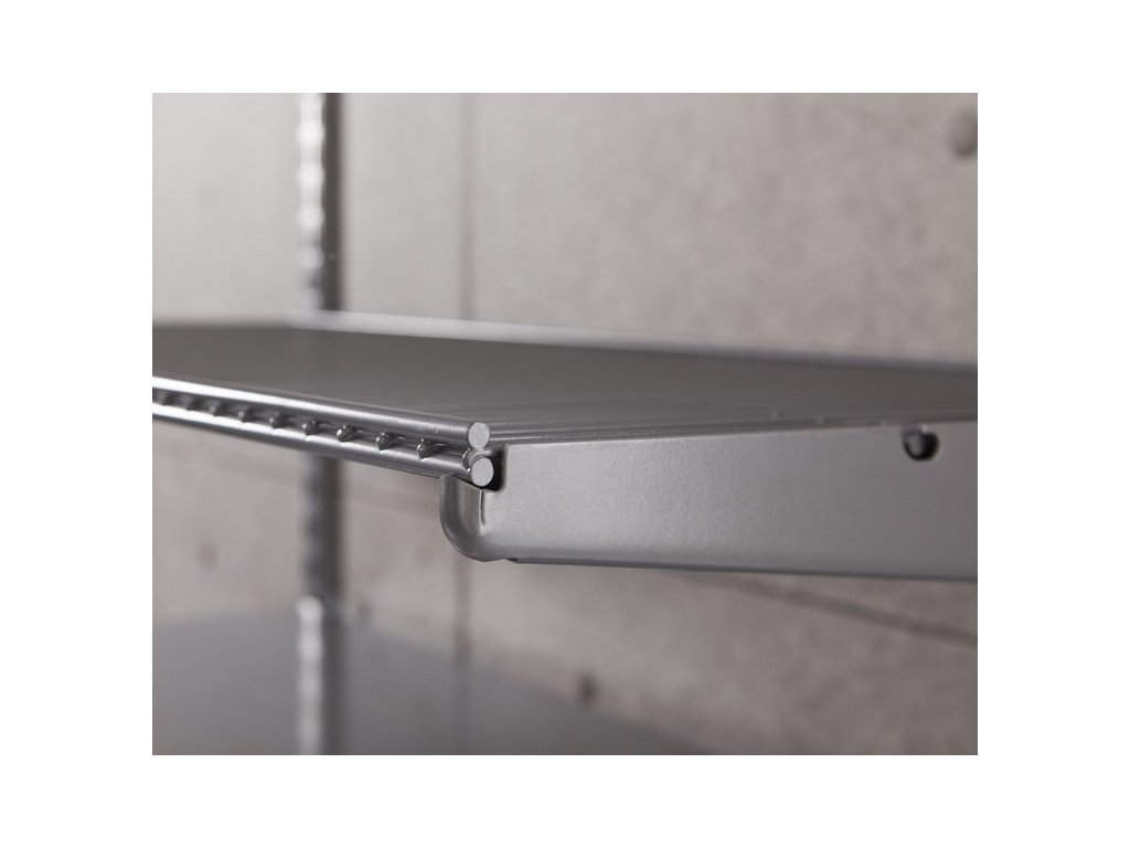 ELEMENT TWIN WIRE SHELF 180X400 SILVER