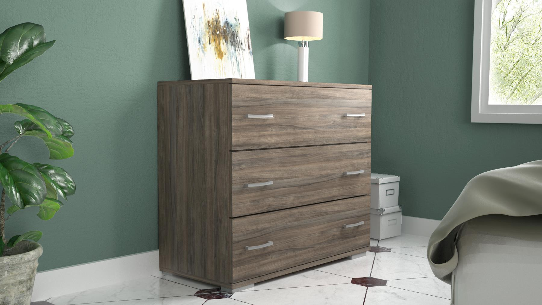 CHEST OF 3 DRS 76X90X45 SMO