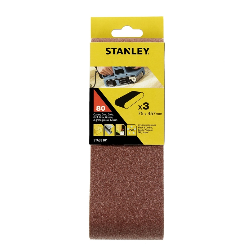 STANLEY SHEETS 75X745MM 80G