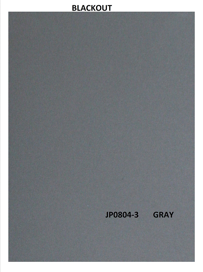 ROLLER BLIND BLACKOUT GRAY  110X270CM