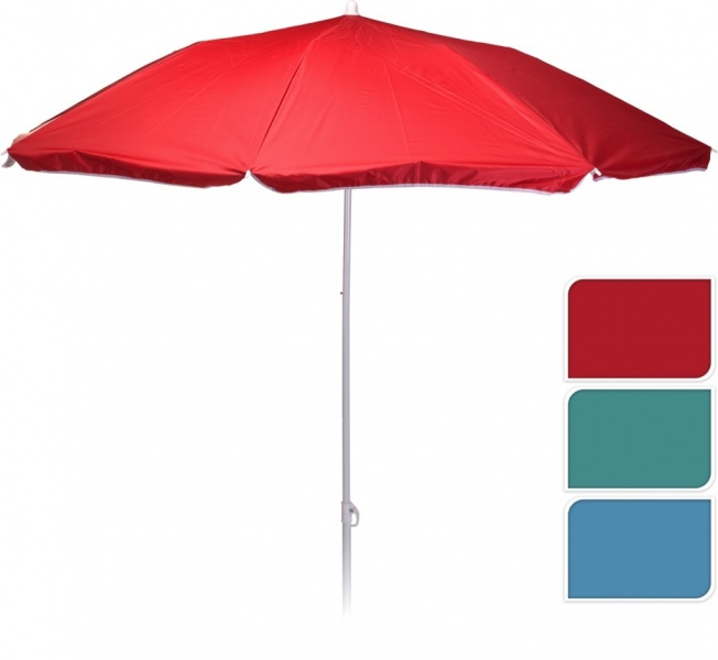 BEACH UMBRELLA 180CM 3ASS
