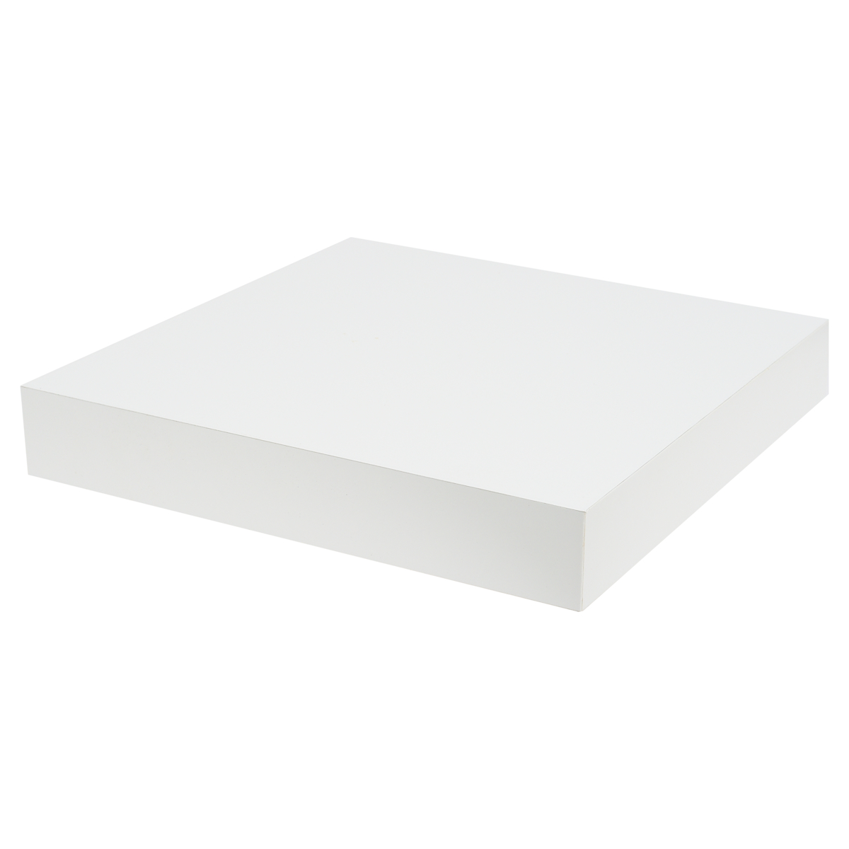 FLT SHELF XL 23.5X23.5X3.8CM WHITE