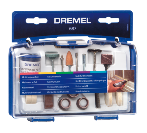 DREMEL MULTI PURPOSE SET 52ACC